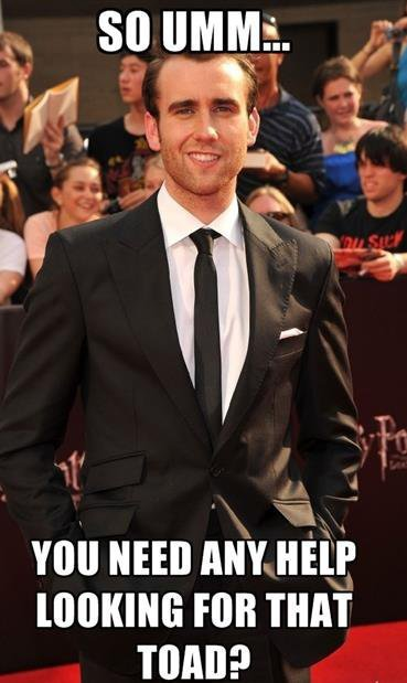 is he really Neville?